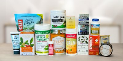 A wide variety of all natural food, supplements, and body care products