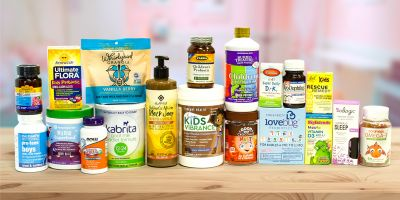 A wide variety of all-natural products for children