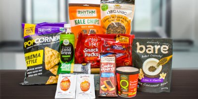 A wide variety of healthy all-natural snacks