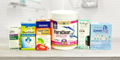 All-natural products for digestive health