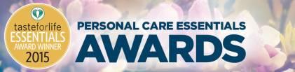2015 Personal Care Essentials Awards