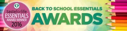 2016 Back-to-School Essentials Awards