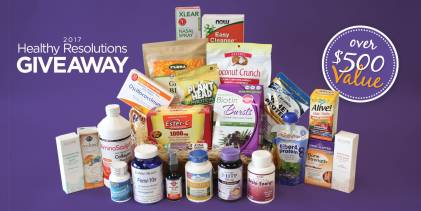 2017 Taste for Life Healthy Resolutions Giveaway gift basket