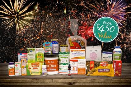 A selection of all-natural products to start the New Year off right