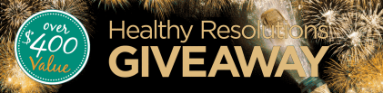 2019 Healthy Resolutions Giveaway