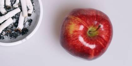 Fruits, veggies, and smoking