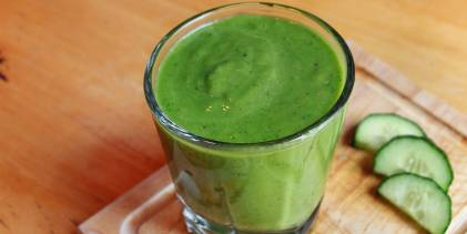 A green smoothie