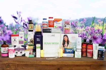 A huge collection of all-natural products perfect for Mother's Day