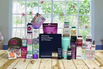 a huge collection of all-natural products for the mom in your life