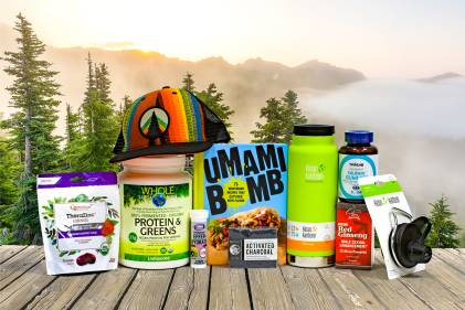 a collection of all-natural products for father's day