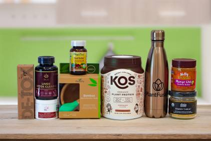 all-natural products and a couple of foods and supplements