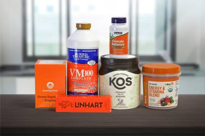 all-natural supplements and body-care products