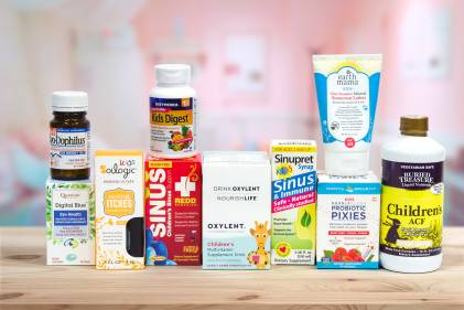 All-natural products for childrens' health