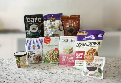 An assortment of delicious and healthy natural foods