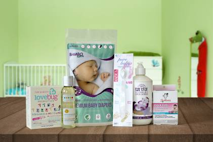 A selection of all-natural products for your baby's health and comfort.