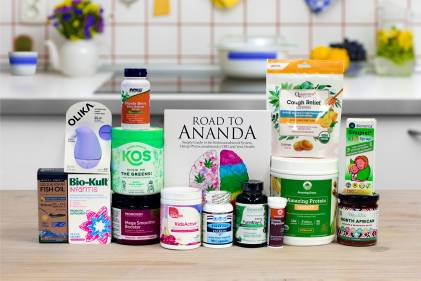 a wide variety of all-natural supplements and superfoods