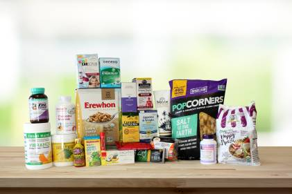 A massive variety of all-natural foods and supplements
