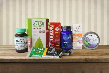 A collection of natural products to manage the common cold