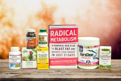 A selection of all natural supplements for renewal and general health
