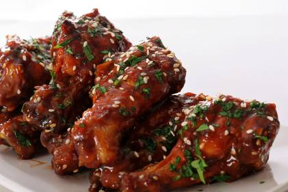 Gluten-free Thai Chicken Wings