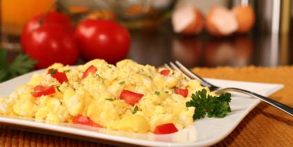Scrambled Eggs, Indian-Style