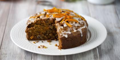 Cardamom Cinnamon Carrot Cake