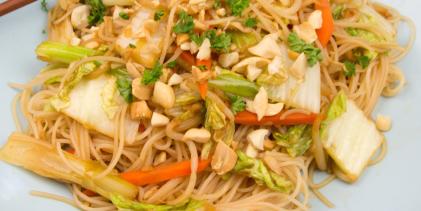 Pad Thai (Spicy Thai Rice Noodles)