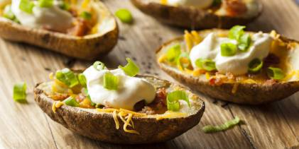 Game-Day Potato Skins
