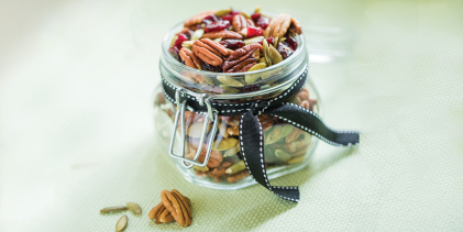 Pecan Cherry Trail Mix