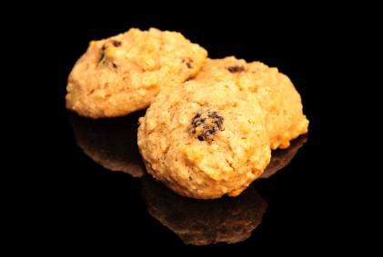 Gluten-Free Applesauce Raisin Cookies