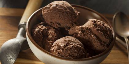 Chocolate Coconut Milk Ice Cream