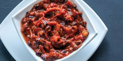 cajun black bean chili