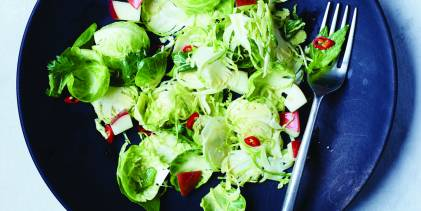 Thai Brussels Sprout Salad