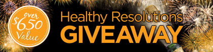 The 2020 Healthy Resolutions Giveaway