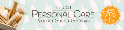 The 2021 Personal Care Product Giveaway