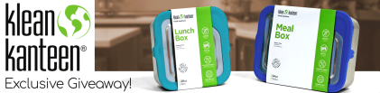 The Klean Kanteen Food Storage Giveaway