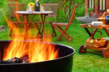 Backyard BBQ Scene