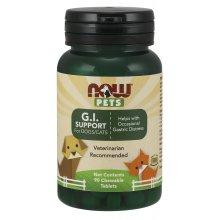 NOW Pets G.I. Support Chewables for Dogs and Cats