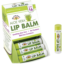 Lily of the Desert's Aloe Vera SPF 16 Lip Balm