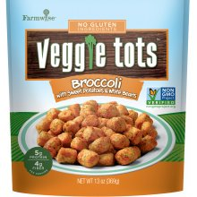 Broccoli Veggie Tots Package