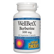 WellBetX Berberine 500 mg