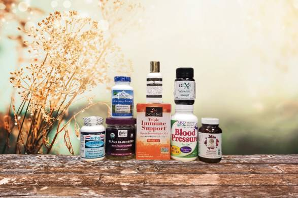 a collection of all-natural supplements for immunity and more