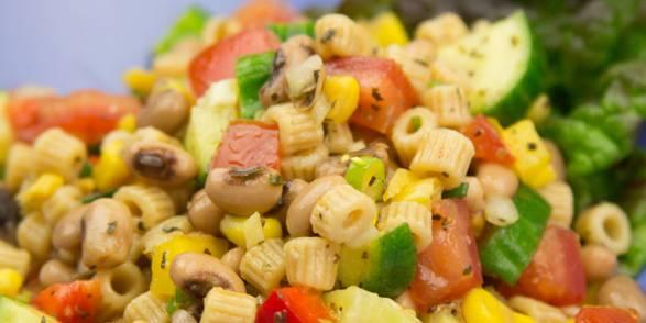 Black Eyed Pea & Ditalini Pasta Salad