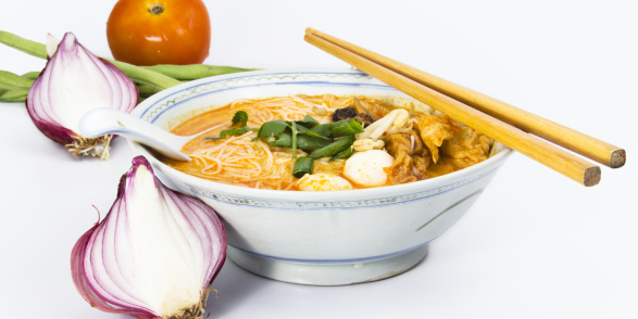 Laksa Curry with Noodles