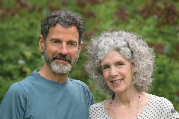 Photo of Paul and Barbi Schulick, founders of New Chapter and ByOm.