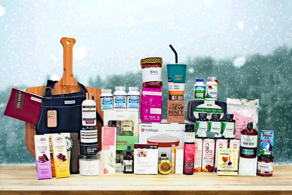 a huge selection of all-natural gifts for the holiday season