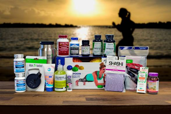 a selection of all-natural products for fitness, strength, endurance, and pain