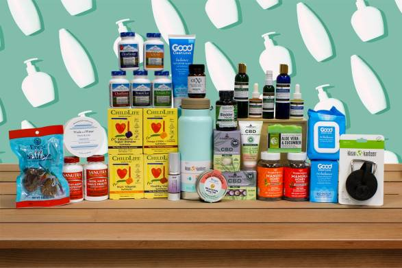 a wide variety of all-natural personal care products, supplements, and foods