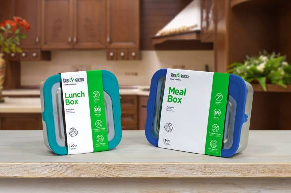 stainless steel food containers from Klean Kanteen