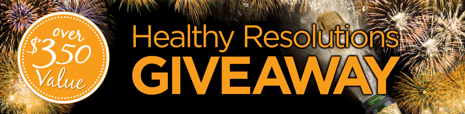 The 2021 Healthy Resolutions Giveaway